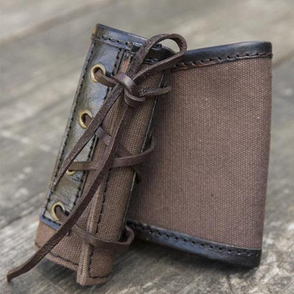 Epic Armoury Porta espada RFP LARP, marrón-negro