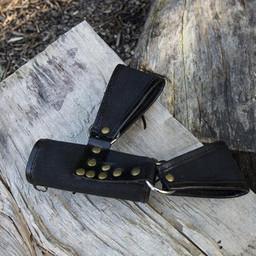 RFB LARP hållare två slingor, svart