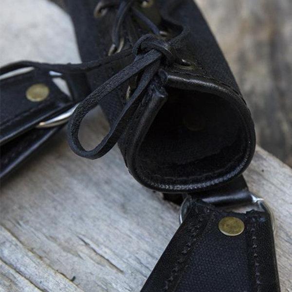 Epic Armoury RFB LARP titulaire deux boucles, noir