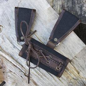 Epic Armoury Uchwyt RFB LARP dwie pętle, czarno-brązowy