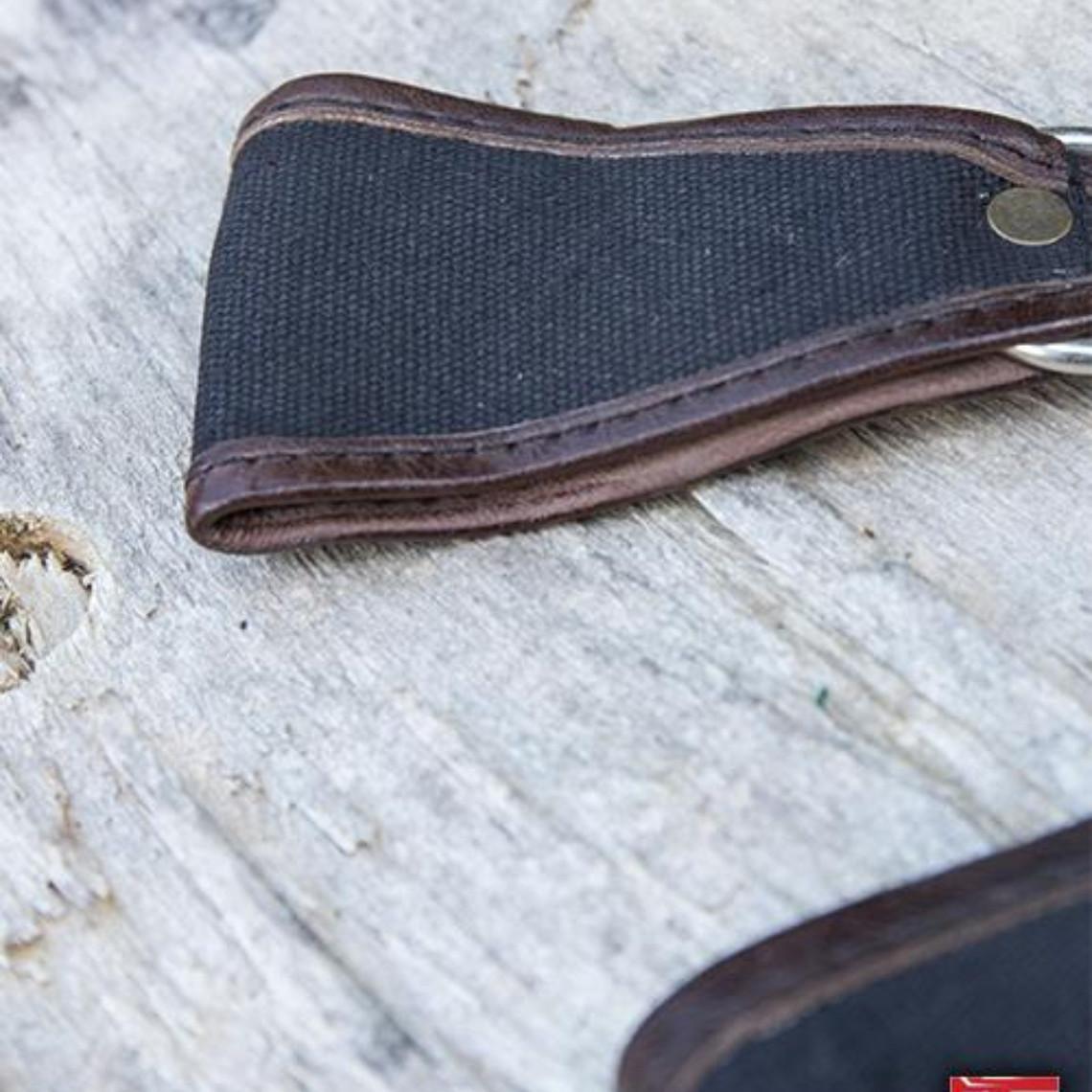 Epic Armoury Soporte RFB LARP dos bucles, negro-marrón