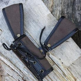 Epic Armoury RFB LARP houder twee lussen, bruin-zwart