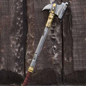 Epic Armoury LARP War hammer with precious stone