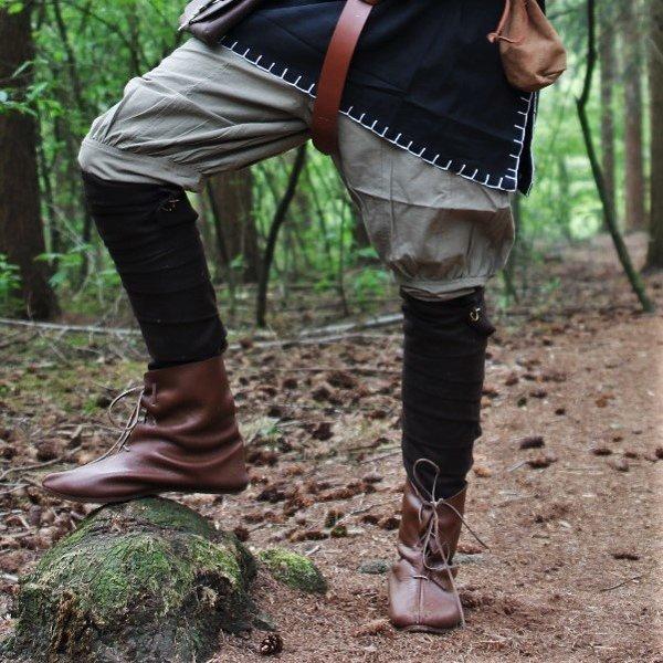Leg wrappings Hredulf, brown