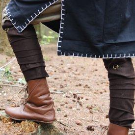 envolturas de las piernas Hredulf, marrón