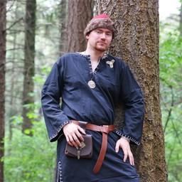 Cinturón con el martillo de Thor, marrón.