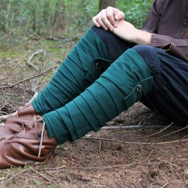 envolturas de las piernas Hredulf, verde