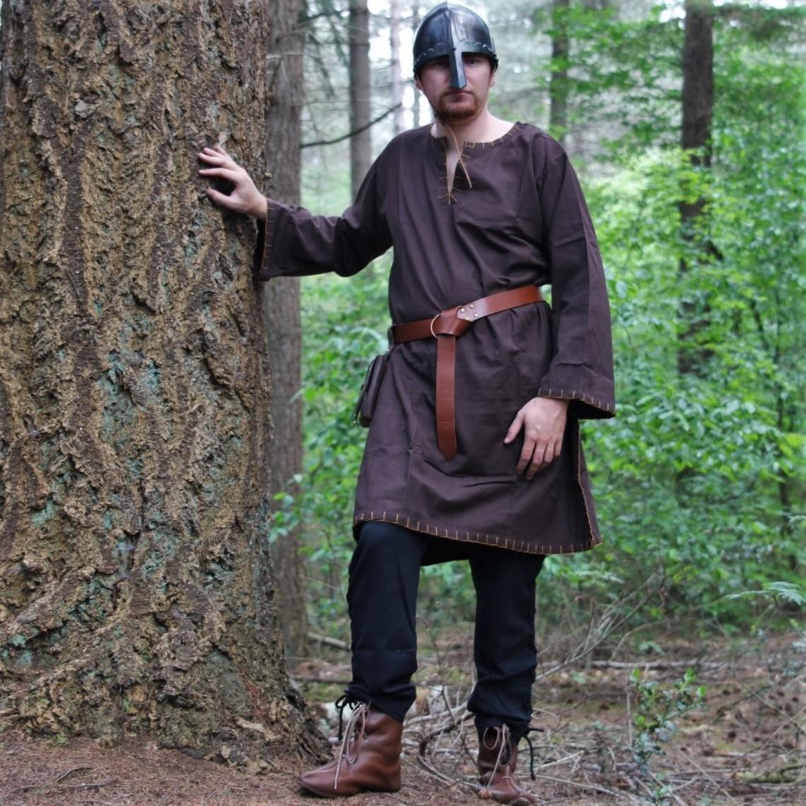 Leonardo Carbone Spodnie Wikingów Dublin, czarne