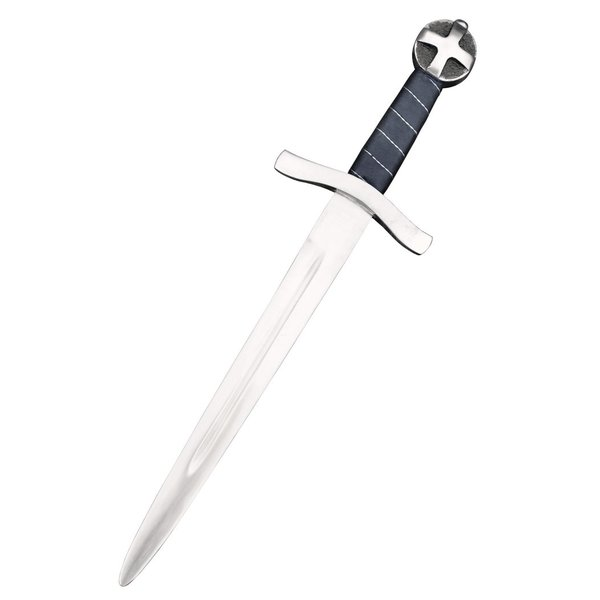 Crusader dagger Jerusalem, semi-sharp