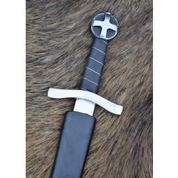 Crusader dagger Jerusalem, semi-sharp