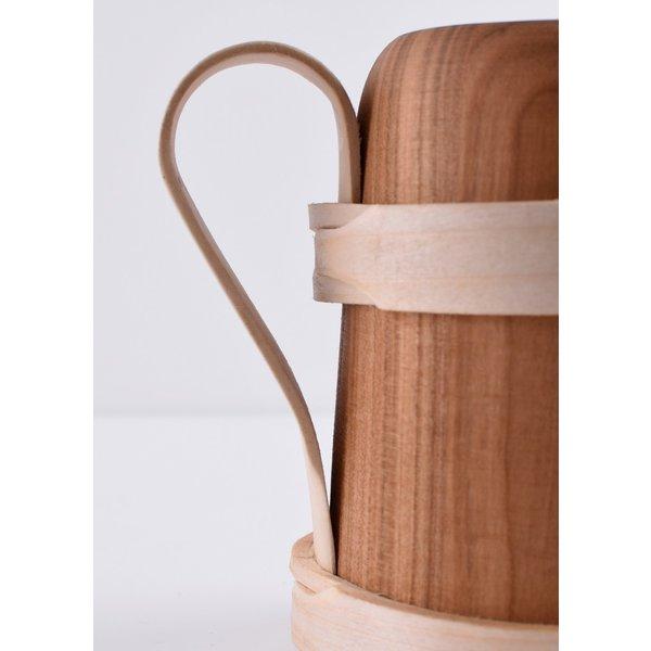 Wooden tankard