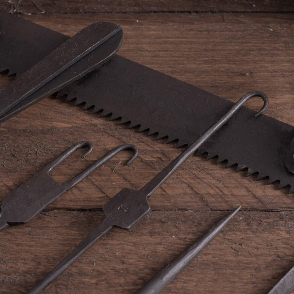 Ulfberth Cirugía set, 7 piezas