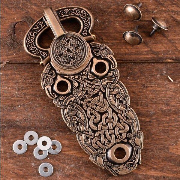 Deepeeka Sutton Hoo buckle, brass