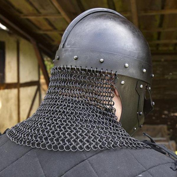 Epic Armoury Viking LARP casco Egil, bronceado