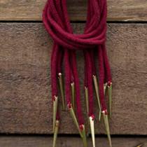 Silke bånd for samurai sværd