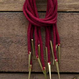 Epic Armoury Veter met aglets, set van 6, rood