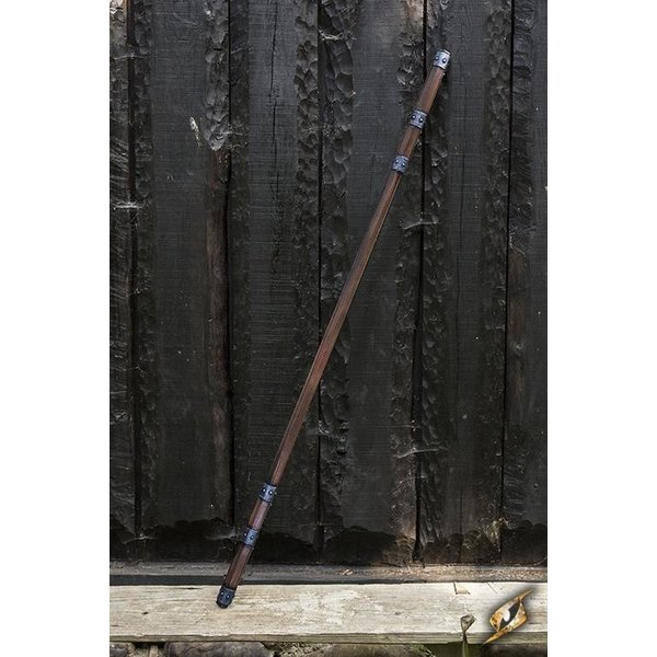 Epic Armoury LARP Staff with metalwork