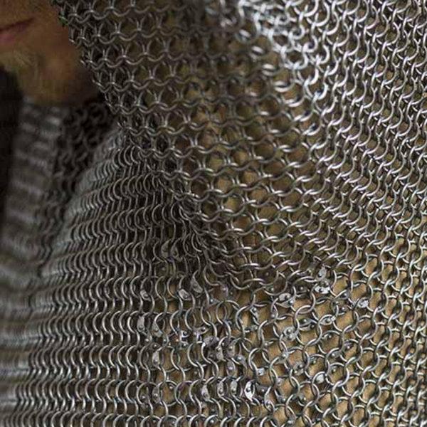Epic Armoury Cavaleriemaliënkolder, korte mouwen, mild steel