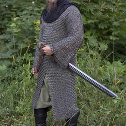 Kavalleri hauberk, runda ringar - runda nitar