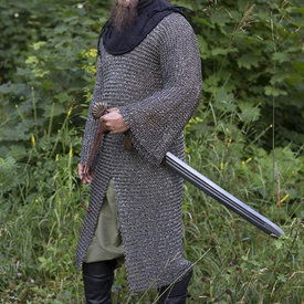 Epic Armoury Cavaleriemaliënkolder, ronde ringen-ronde klinknagels
