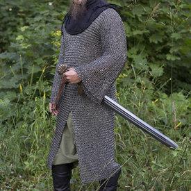 Epic Armoury Kavalleri hauberk, runda ringar - runda nitar