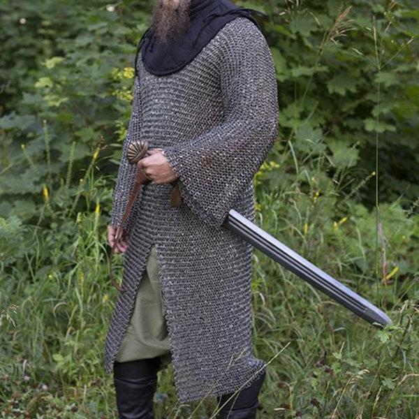 Epic Armoury La cavalerie haubert, anneaux ronds - rivets ronds