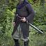 Epic Armoury Caballería cota de malla, negro, remachadas