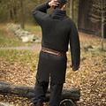 Epic Armoury Kawaleria hauberk, czarna stal