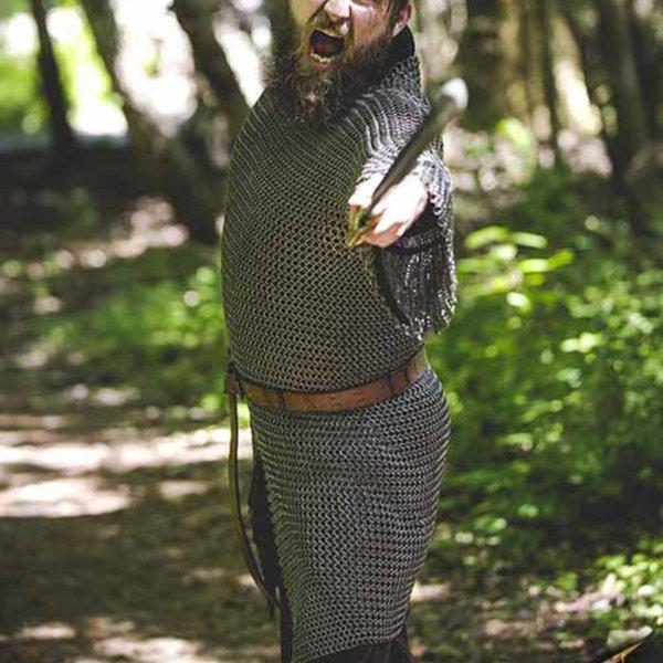 Epic Armoury Cavalerie haubert, acier doux