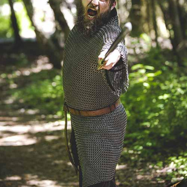 Epic Armoury Cavalry brynje, blødt stål