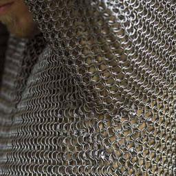 Cavalry hauberk, mild steel