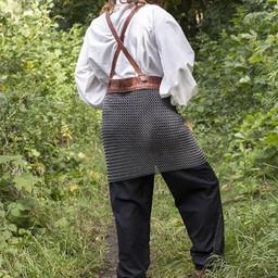 Kolczuga spódnica w pasy