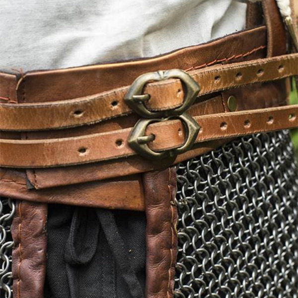 Epic Armoury Chainmail kjol med remmar