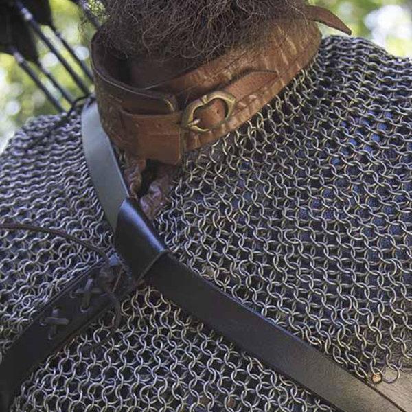 Epic Armoury manteau épiscopal, col de cotte de mailles
