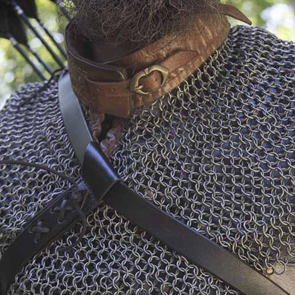 Epic Armoury manto, collar de cota de malla de Bishop