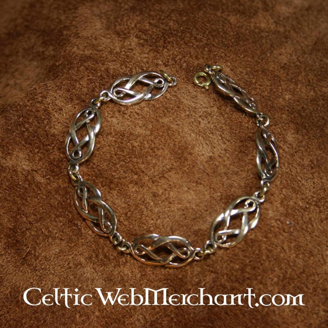Geknoopte Keltische polsband