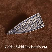 Viking belt end Borre animal