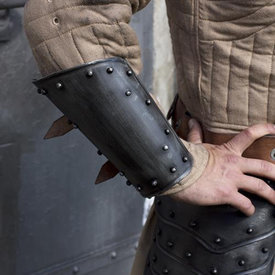 Epic Armoury Medieval vambraces, patinated