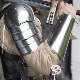 Średniowieczne vambraces, para