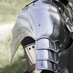 Gothic gorget & Pauldrons