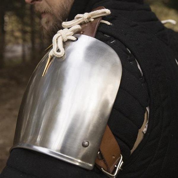 Epic Armoury Schouderpantser Churburg, gepolijst