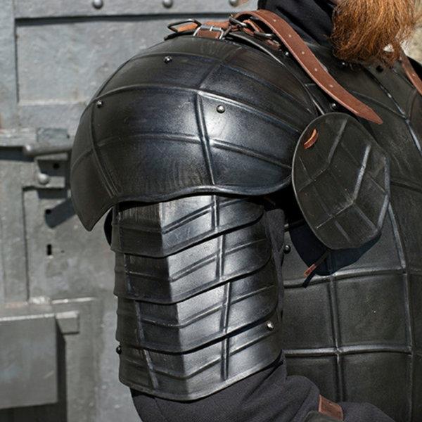 Epic Armoury Skulder panser Mørk Drake