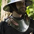 Epic Armoury Gorget de la fin du Moyen Age