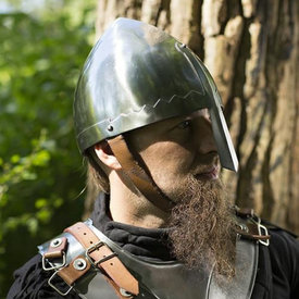 Epic Armoury Saint Wenceslaus nasal helmet Prague
