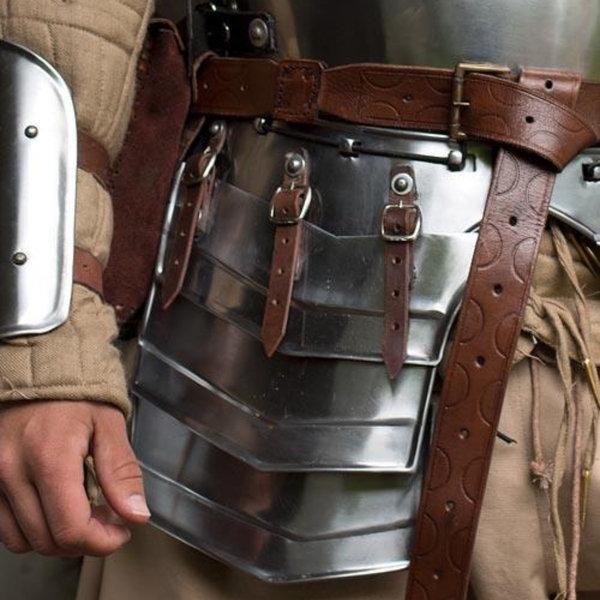Epic Armoury Rüstung Set Merc, braunes Leder