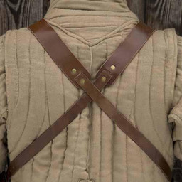 RFB middeleeuwse borstplaat, gepatineerd