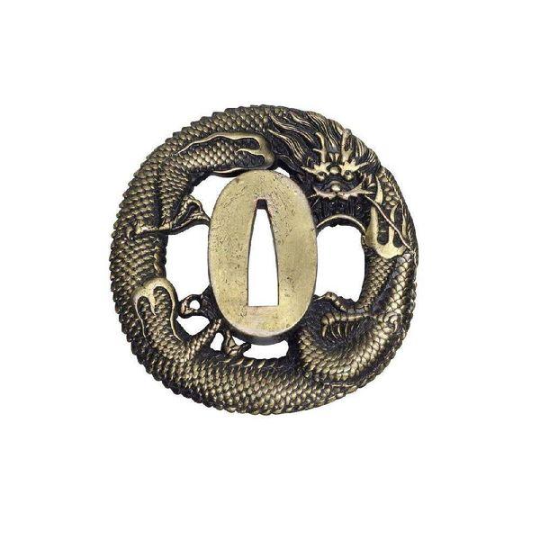 John Lee Dragón del tsuba