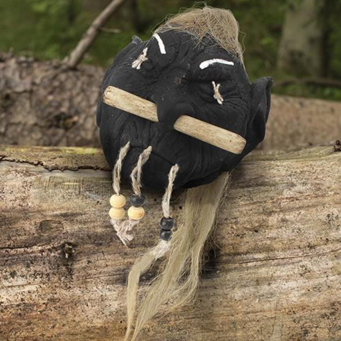 Epic Armoury LARP tête ratatinée elfe noir