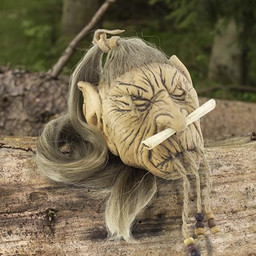 LARP geschrumpfter elfischer Kopf