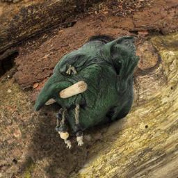 LARP shrunken Goblin head
